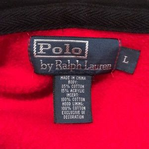Polo by Ralph Lauren Shirts - Polo by Ralph Lauren full zip hoodie Big Pony VTG
